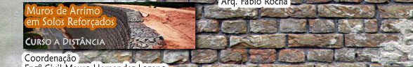 Muros de Arrimo em Solos Reforçados - Noções Básicas