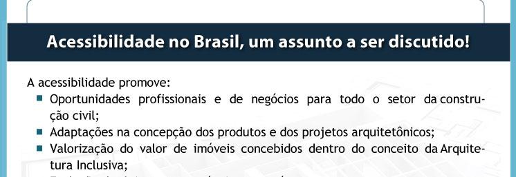 Acessibilidade no Brasil, um assunto a ser discutiido
