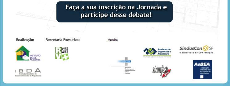 Faça a sua inscrição na Jornada e participe desse debate!