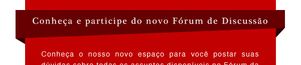 Novo Forum de Discussao