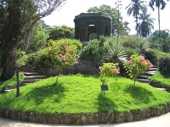 Sensory Garden in the Botanical Garden of Rio de Janeiro