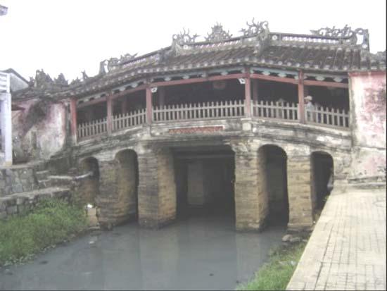 Ponte japonesa em Hoi An, Vietnã