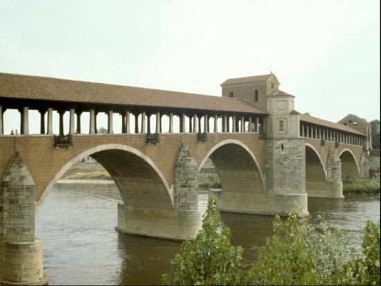 Ponte de Pávia (Lombardia, Itália)