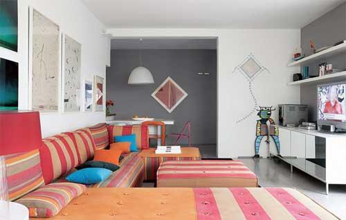 Foto de uma sala