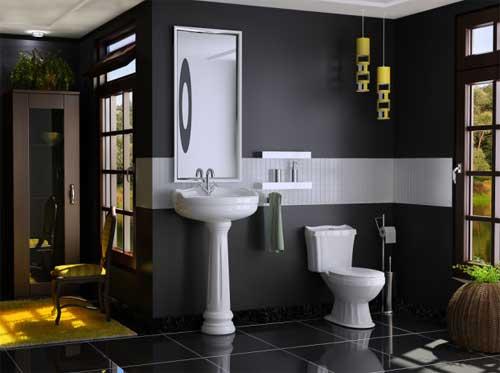 Louças Sanitárias Eternit novidades com design moderno e muitas cores  Fóru -> Banheiro Decorado Com Vaso Sanitario Preto