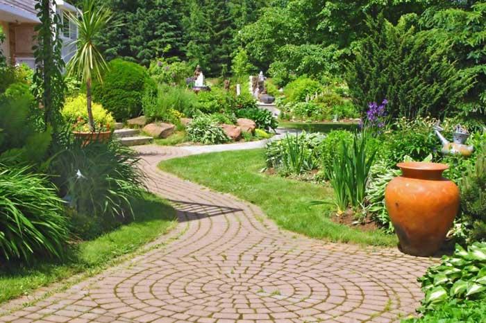de jardins começaram com grande força a se envolver em projetos de