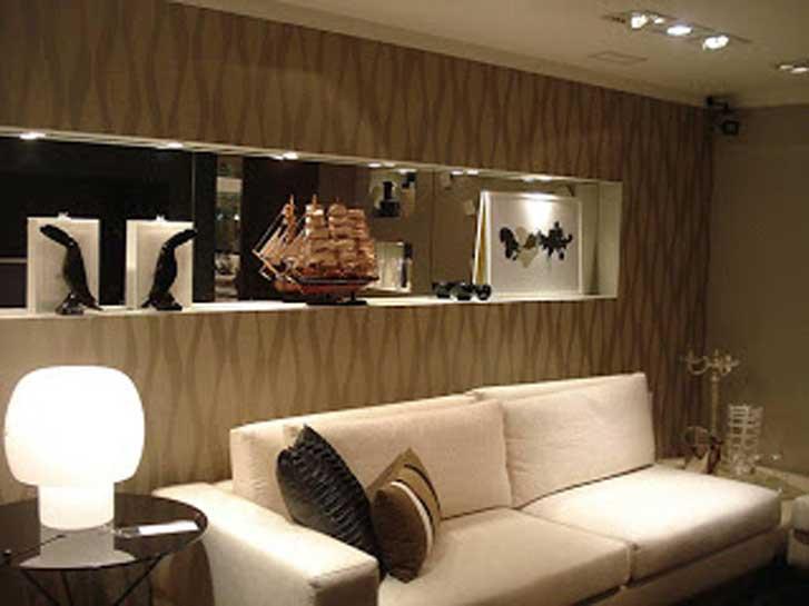papel de parede decoracao de interiores:Papel de parede, paredes de papel!
