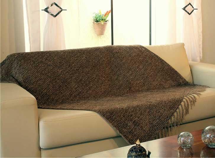 Decora o de sof s com mantas sinta se confort vel for Mantas para sofas