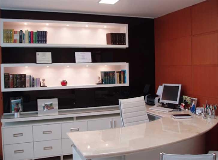 Decorando o escritório com estilo moderno Fórum da Construç u00e3o -> Decoração De Escritório Residencial