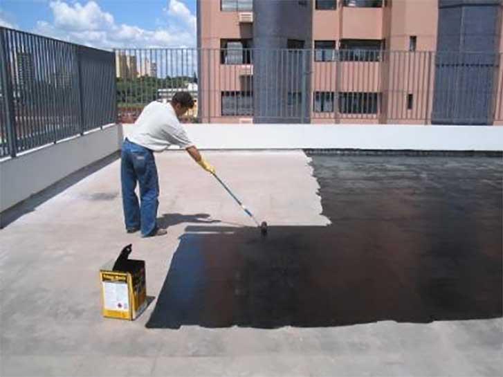 Como impermeabilizar laje dicas e vantagens na aplica o for Impermeabilizante para estanques de agua