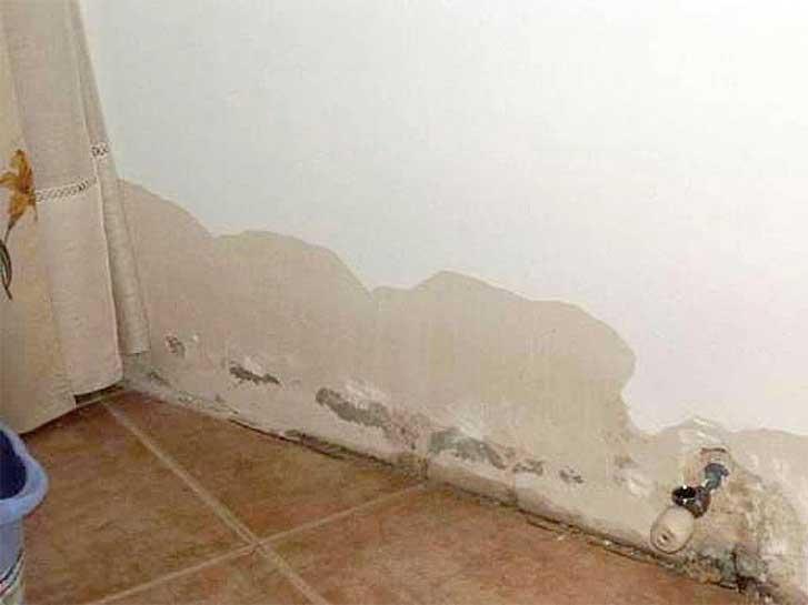 Principais problemas causados pela umidade na alvenaria for Productos antihumedad para la casa