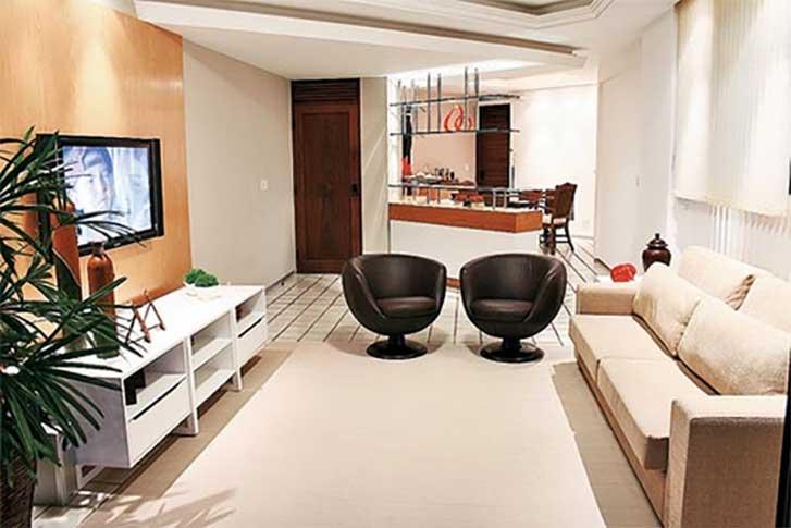 Como fazer a decora o de apartamentos pequenos e modernos for Decoracion moderna de apartamentos pequenos